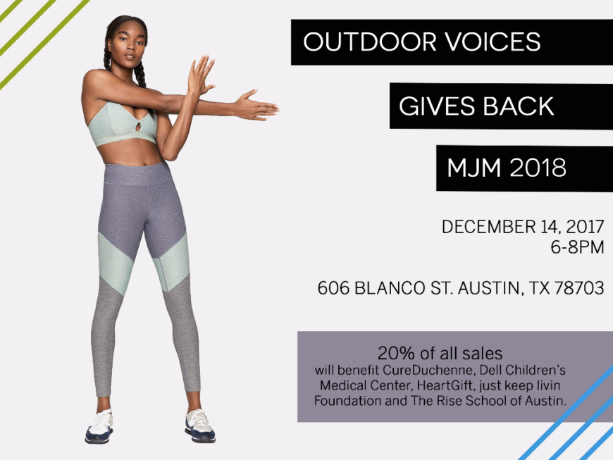 Outdoor Voices Gives Back to JKL