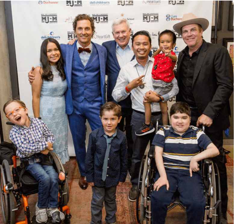 MACK, JACK & MCCONAUGHEY RETURNS FOR ITS 8TH ANNUAL FUNDRAISING EVENT ON APRIL 23 & 24, 2020